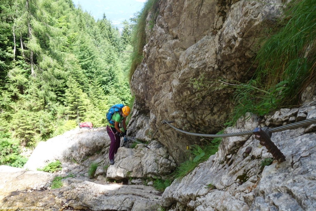 Klettersteig Kärnten : Rotschitza klamm klettersteig kärnten