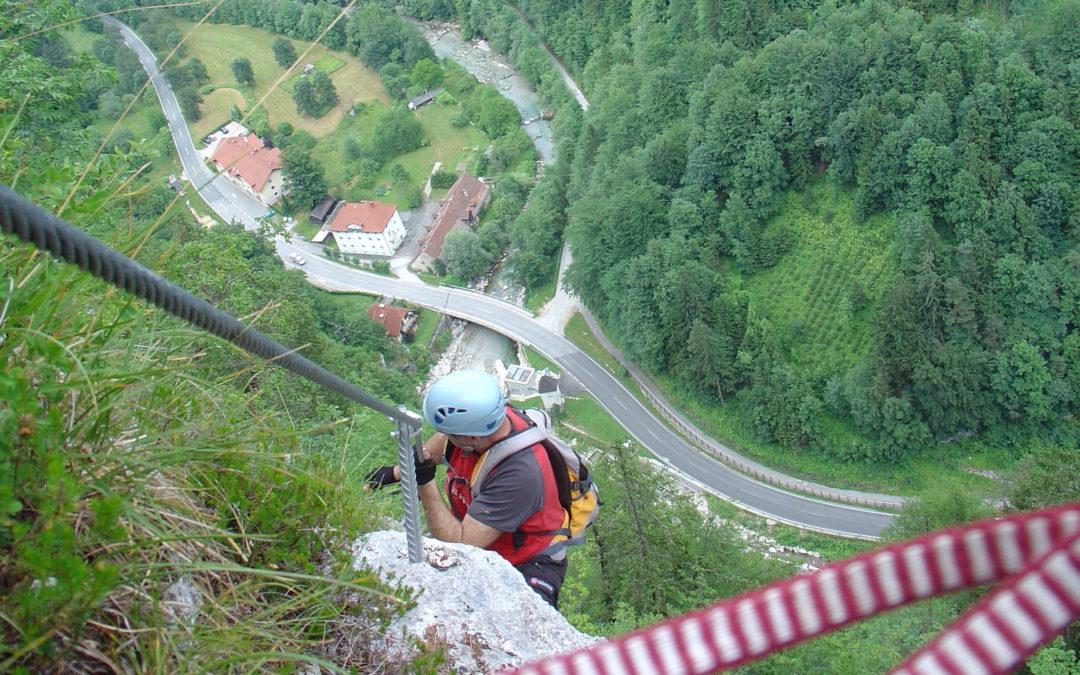 Türkenkopf – Klettersteig (D/E) Bad Eisenkappel, Kärnten
