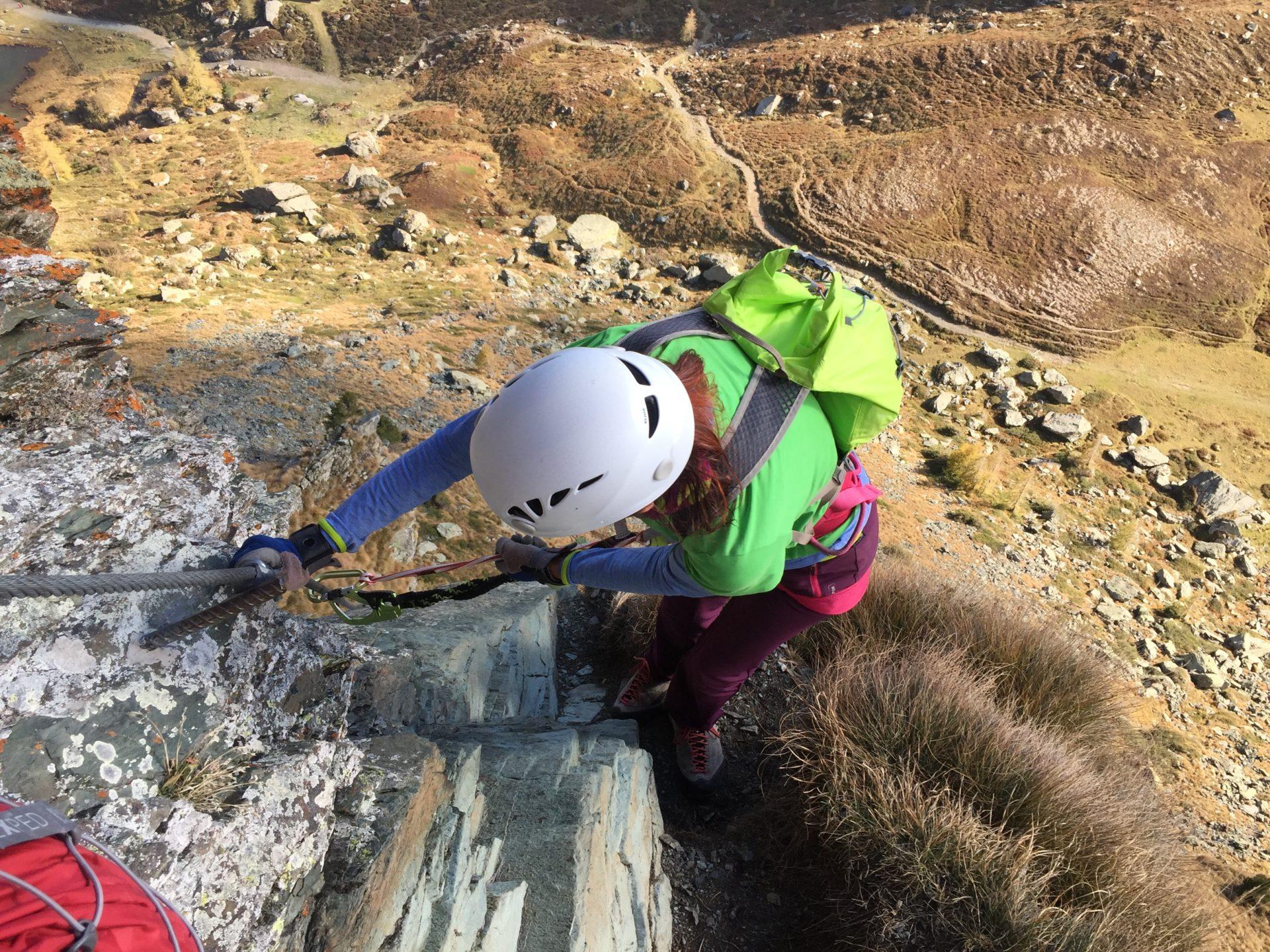 Klettersteig Falkert : Falken klettersteig bergsteigen