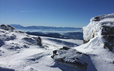 Ladinger Spitz (2.079m) Schitour, Saualpe, Kärnten