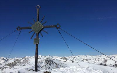 Großes Lachtal – Schießeck (2.262m), hoher Zinken (2.222m) Stmk, Schi Rundtour 2019