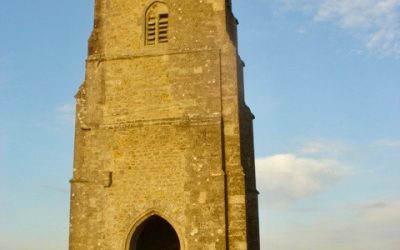 Galstonbury Tor – Sonnenaufgang, England
