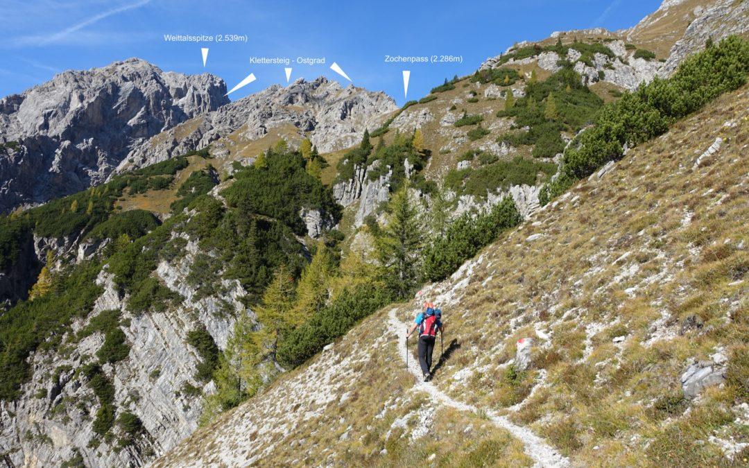 Tufbad, Zochenpass, Weittalspitze Klettersteig – Lesachtal, Osttirol