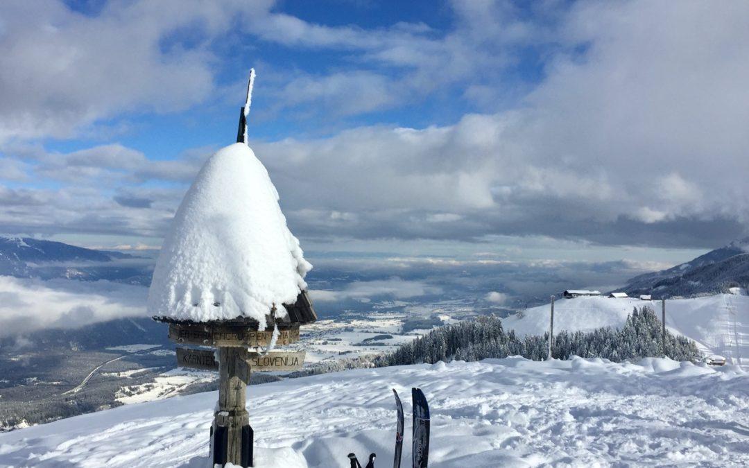 Dreiländereck 1.508m, Skitour-Kärnten