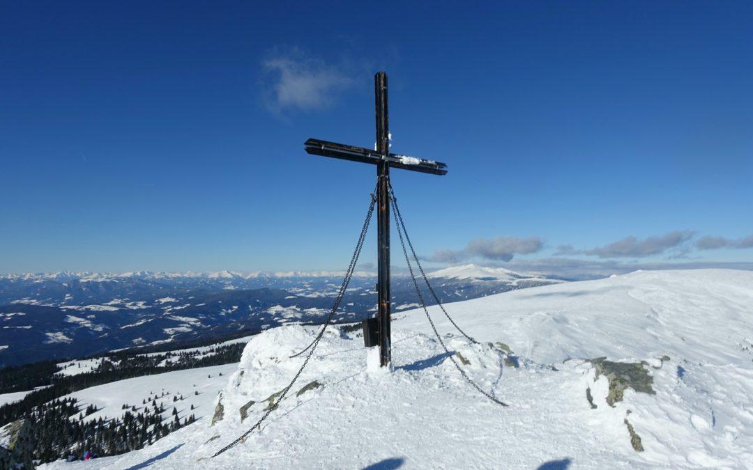 Ladingerspitz (2.079m) Gertrusk (2.044m) Skitour, Kärnten