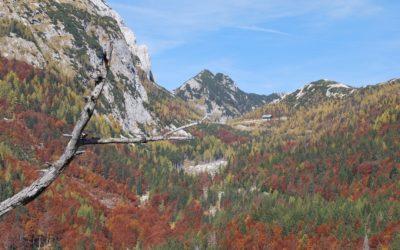 Vršič-Pass (1.611m ), Soča Tal Slowenien, Predil See (969m) Italien